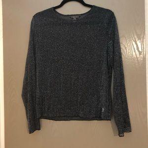 NWOT Victoria's Secret mesh long sleeve top M\L